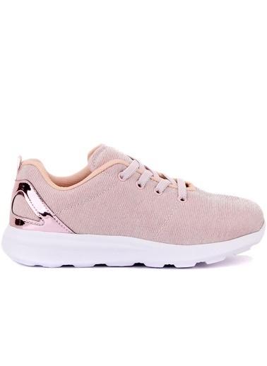 Cool 20-S05 Pembe Kız Çocuk Fileli Günlük Spor Ayakkabı Pembe